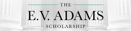 EV Adams Scholarship 2020