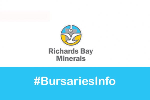 Richards Bay Minerals RBM Bursary 2021