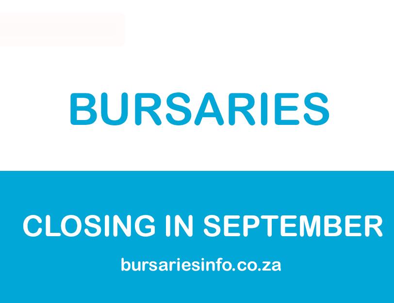 2021 South African Bursaries Closing in September 2020