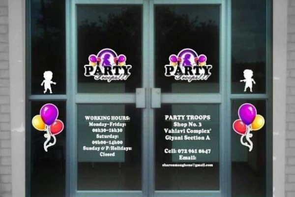 Party Troops Giyani, Hire Party Equipments