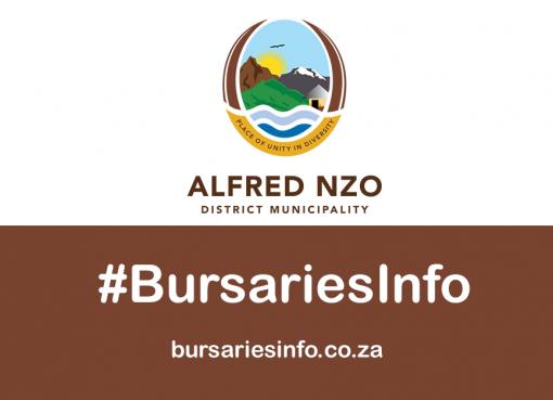 Alfred Nzo District Municipality Bursary 2021–2022