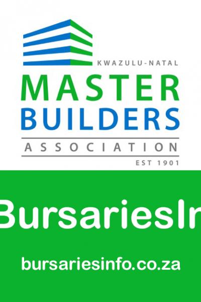 Master Builders KwaZulu-Natal Bursary 2021 – 2022