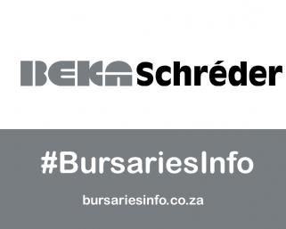 BEKA Schréder Bursary South Africa 2021 – 2022