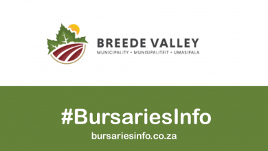 Breede Valley Municipality Bursary 2021–2022