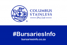 Columbus Stainless Bursary 2021–2022