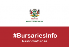 Mopani District Municipality 2021–2022 bursary