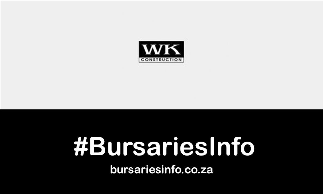 WK Construction Bursary 2021-2022